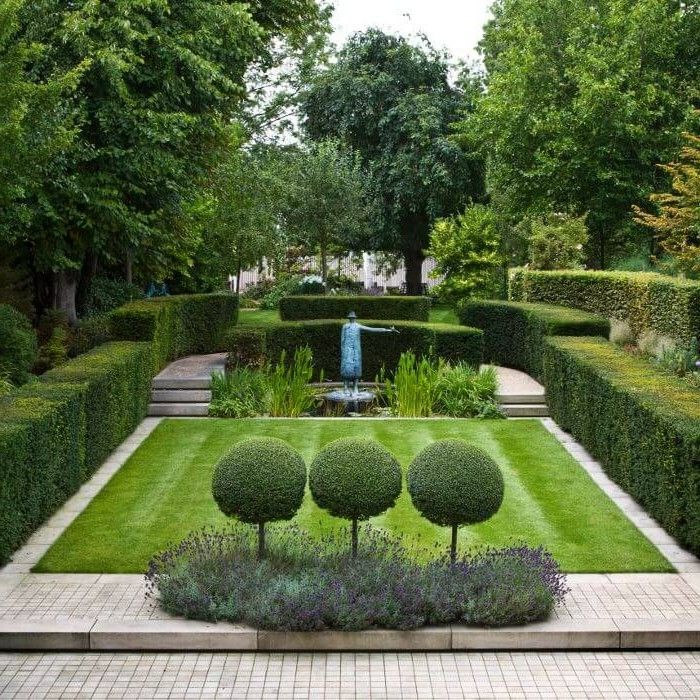 Attirant Comfortable Creative Design Gardens Ideas   Landscaping Ideas For Backyard    Educard.info