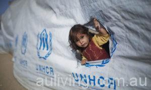 Girl-refugee