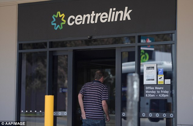 Out of 1400 cases of potential Centrelink fraud investigated, more than 950 were referred to police (stock image)
