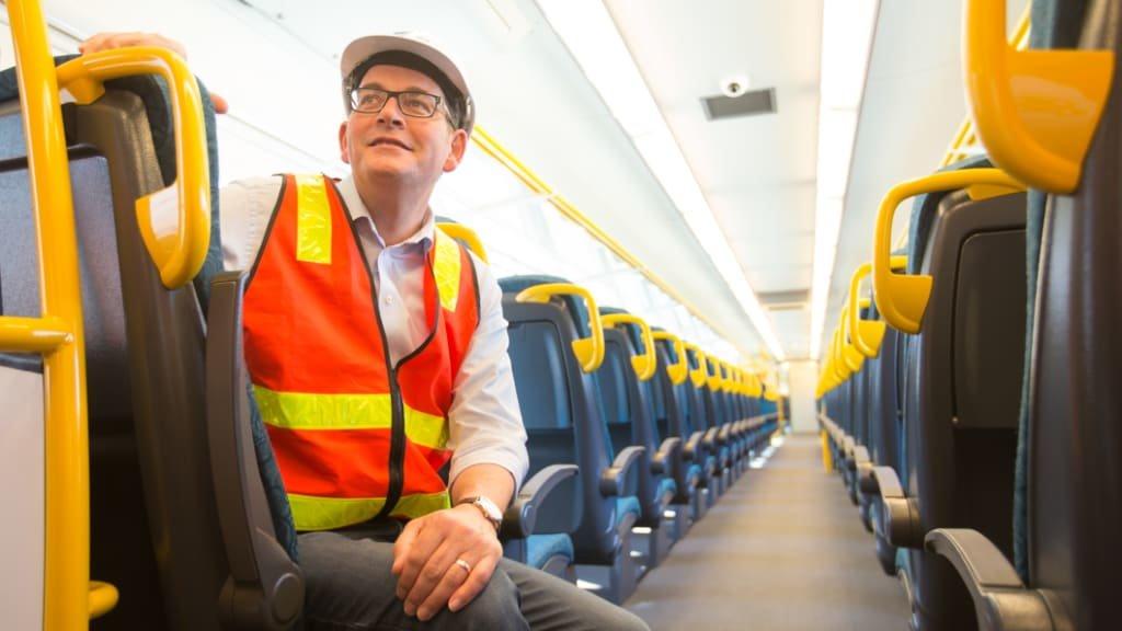 安德斯承諾興建快鐵來往墨市及智朗。雪梨晨鋒報