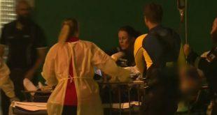 被鯊魚咬傷的33歲男子送往醫院,但搶救後不治。 9News