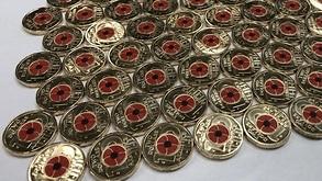 New Australian $2 coins.