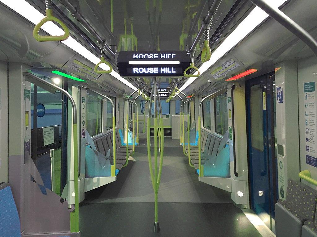 Sydney Metro train interior.jpg