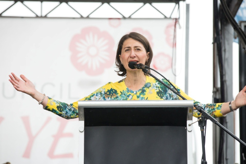 Z:\631-20190209\Draft\community - Sydney\Hurstville庆祝中国新年举办社区活动圖說:新州州长Gladys Berejiklian (图:Judith Russo, Creative Events Photography).jpg