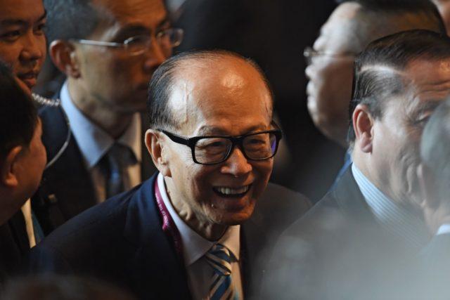 香港首富李嘉诚再次就反送中问题表态 (图片来源:ANTHONY WALLACE/AFP/Getty Images)