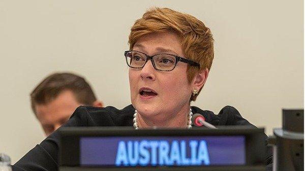 """澳洲外交部长严正呼吁港府和港警""""克制"""",倾听人民声音。而港媒表示,此言可能致使中澳关系再度的恶化。"""