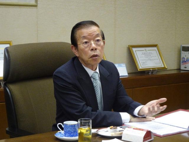 台湾驻日代表谢长廷。(图片来源:中央社)