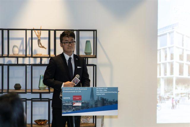 英国驻香港总领事馆职员郑文杰。(图片来源:silkroadresearch.org)