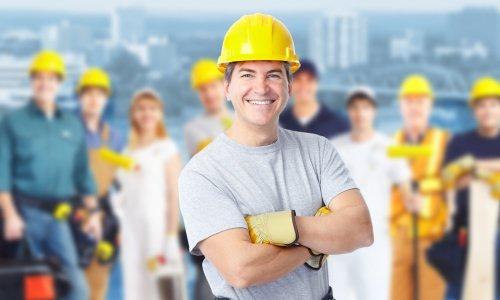 建筑工人。