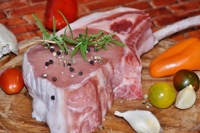 猪肉。(图片来源:Pixabay)