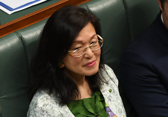 华裔女议员廖婵娥Gladys Liu。(Tracey Nearmy/Getty Images)