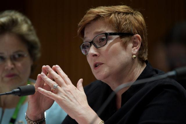 澳洲外交部長Marise Payne