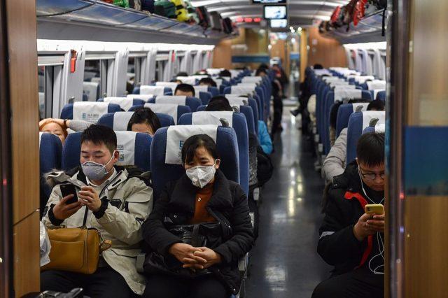 武汉肺炎。(图片来源:HECTOR RETAMAL/AFP via Getty Images)