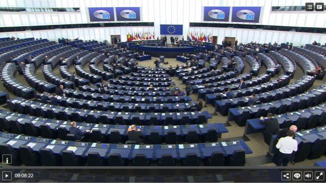 歐洲議會周三接連表決通過歐盟2項年度執行報告決議案。(歐洲議會官網)