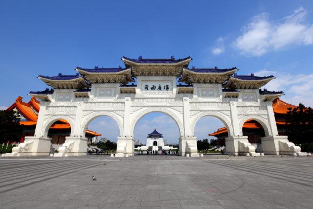 台湾自由广场。(图片来源:Adobe Stock)