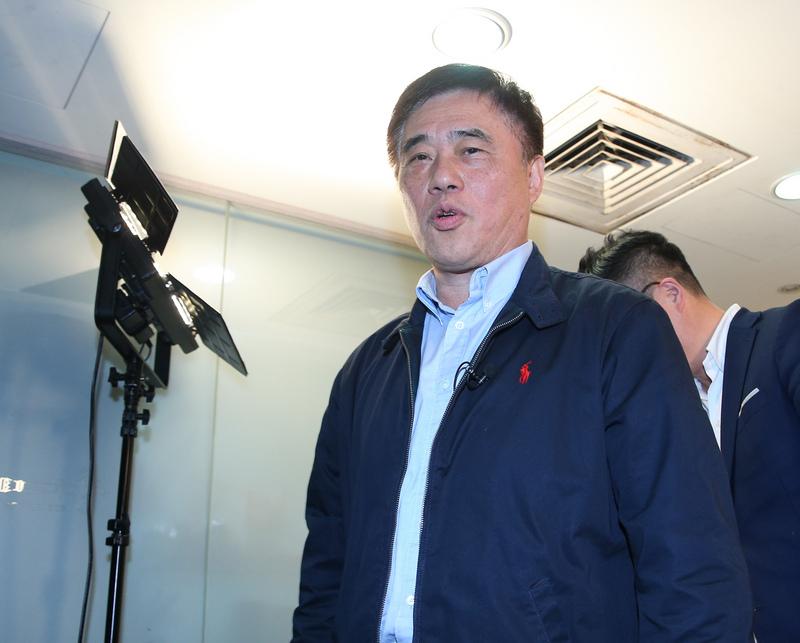国民党主席候选人郝龙斌(图片来源:中央社)