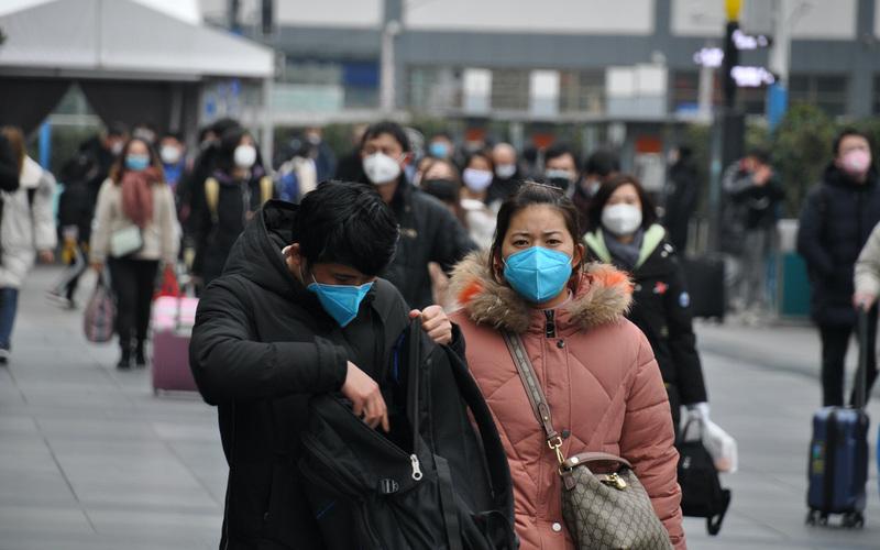 2月10日是大陆返工的日子(图片来源:中央社)