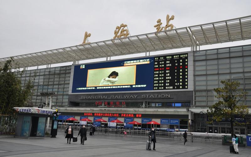 北广深均封城 上海也实行半封城措施(图片来源:中央社)