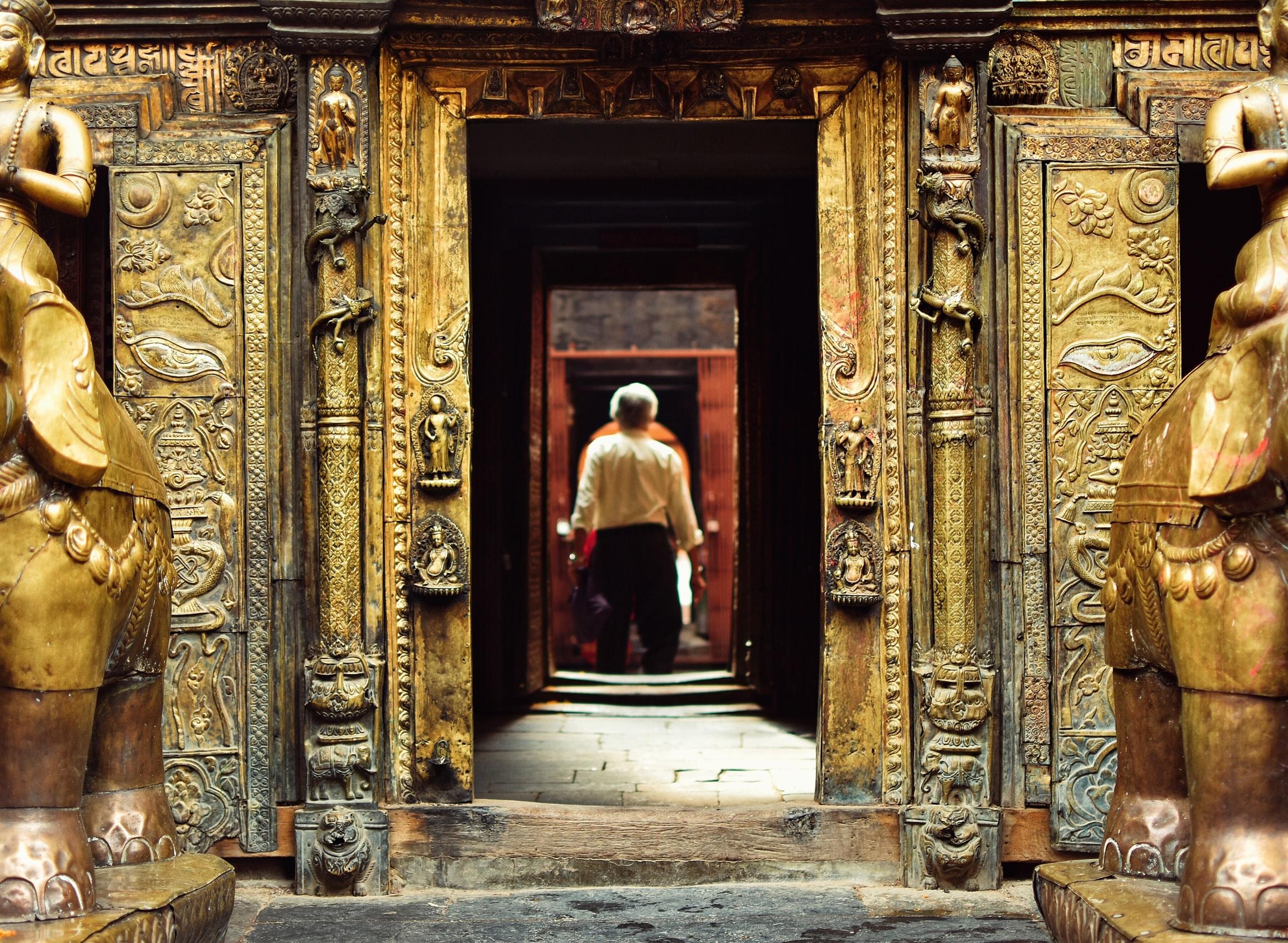尼泊尔黄金庙