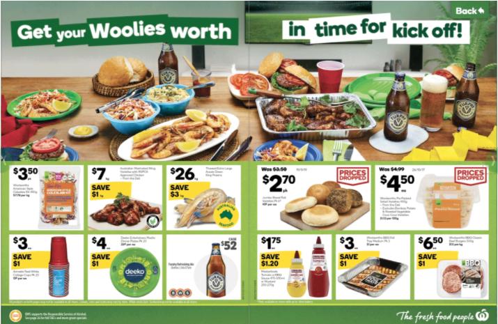 Woolworths本周半价商品