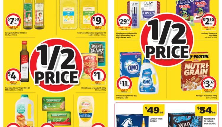 Coles 本周半价商品