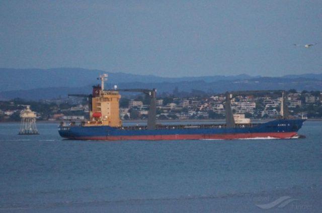 Sofrana Surville号货船