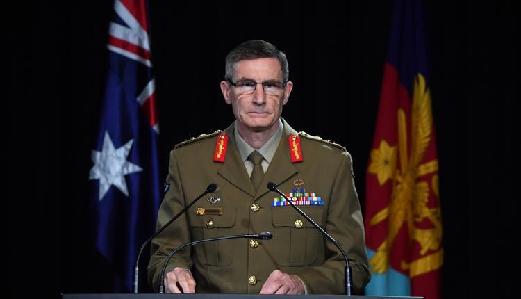 澳洲国防军总司令Angus Campbell
