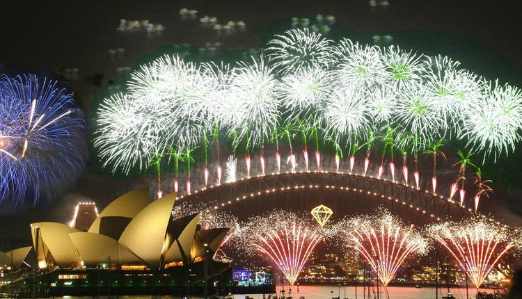 悉尼跨年煙火