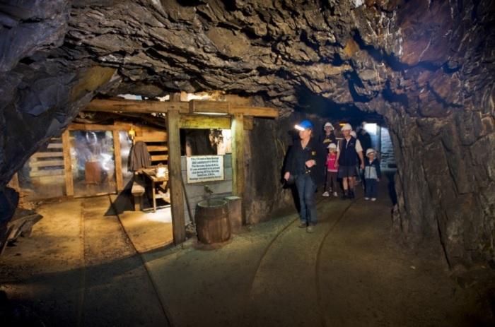 Walhalla的金矿洞