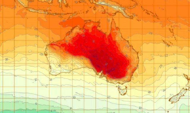 澳洲极端天气