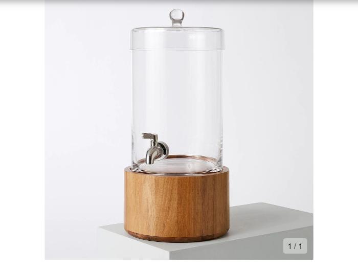 玻璃飲料桶是夏日必備品