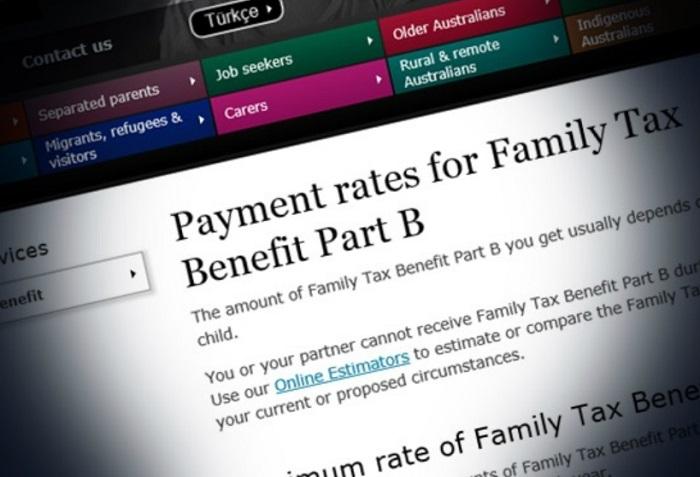 家庭稅收福利政策B部分