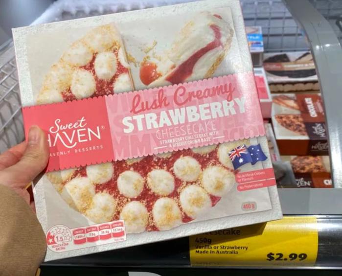 Sweet Haven草莓芝士蛋糕