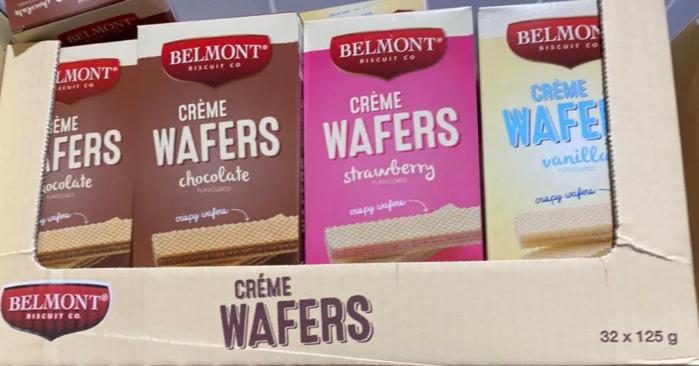 Belmont威化餅乾