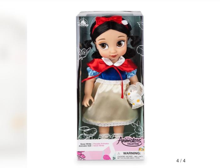 迪斯尼公主Q版立體玩偶