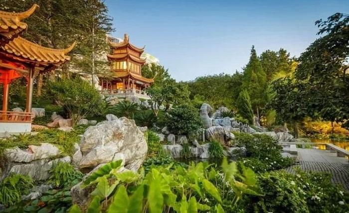 中國版園林