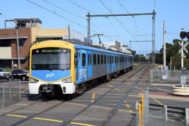 墨爾本的火車
