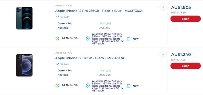太平洋藍色的iPhone 12 Pro 256g