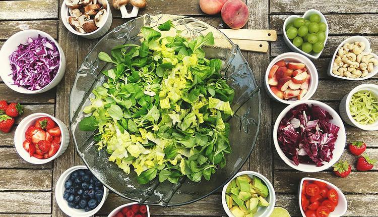 沙拉 食物 蔬菜