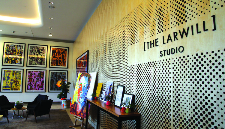 充满故事的时尚酒店The Larwill Studio