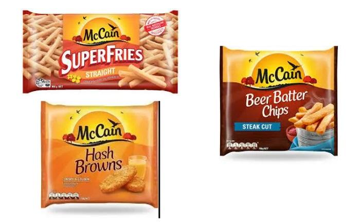 McCain的产品