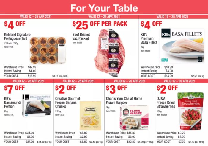 澳洲Costco最新優惠目錄來襲 蝦餃等美食在列