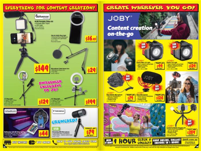 JB-Hifi官网4月8日到4月21日还有产品特卖活动