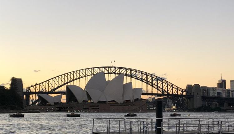 悉尼 海港大桥 歌剧院