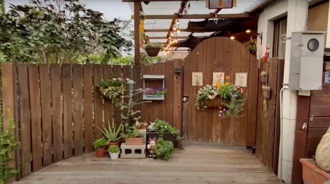 台灣鄉間花園小屋裡的慢節奏生活