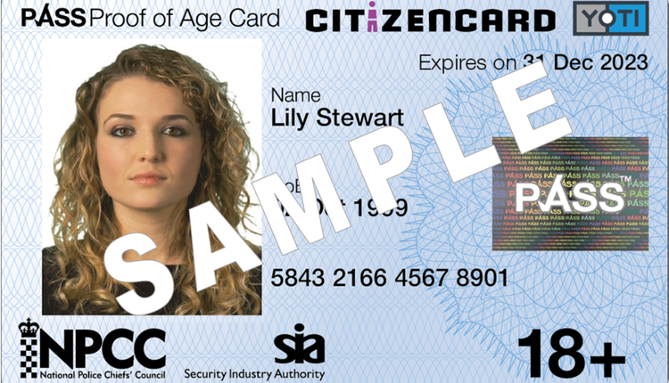英国公民身份证