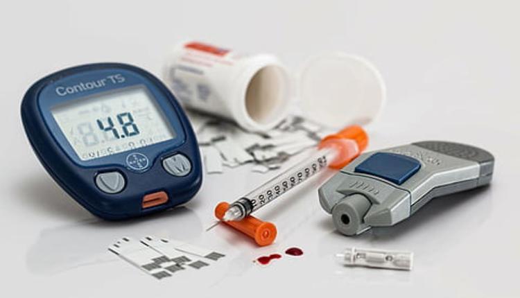 糖尿病 葡萄糖测试 血糖 注射器