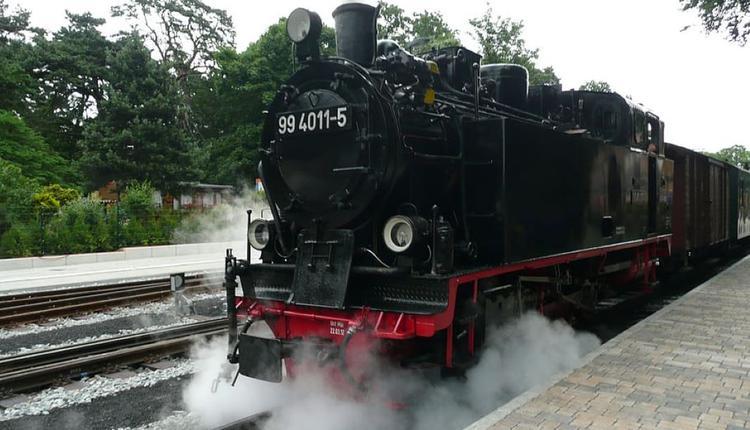 蒸汽火车 示意图 图片来源:Piqsels