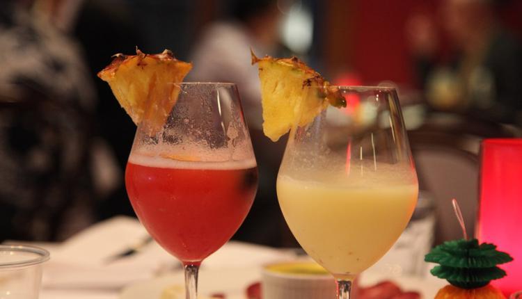 凤梨鸡尾酒