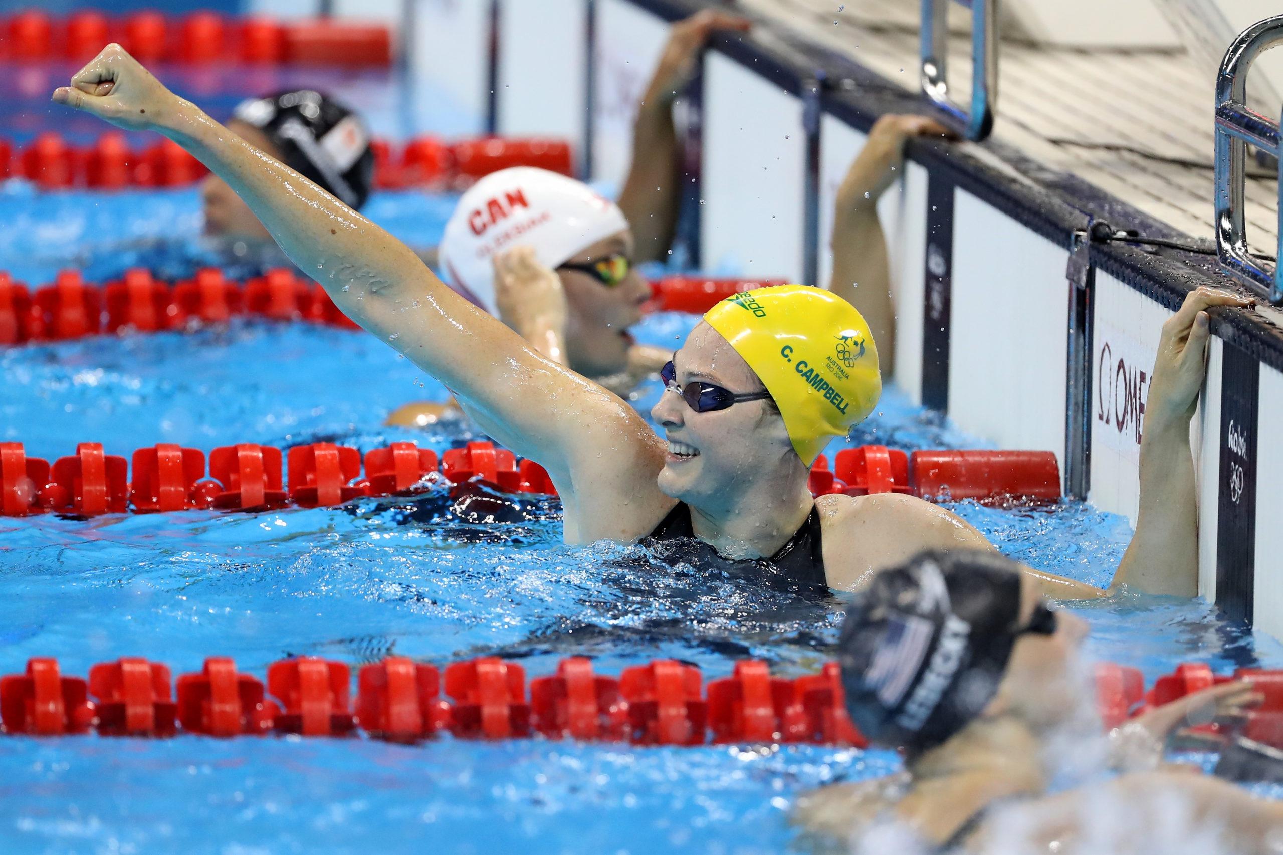 澳洲女子4x100米自由游接力破世界紀錄奪冠